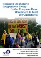 ENIL-ECCL Shadow report on the implementation of Article 19 of the UN CRPD in the EU