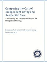 Comparing the Cost of Independent Living and Residential Care